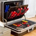 Inhalt vom guten Werkzeugkoffer